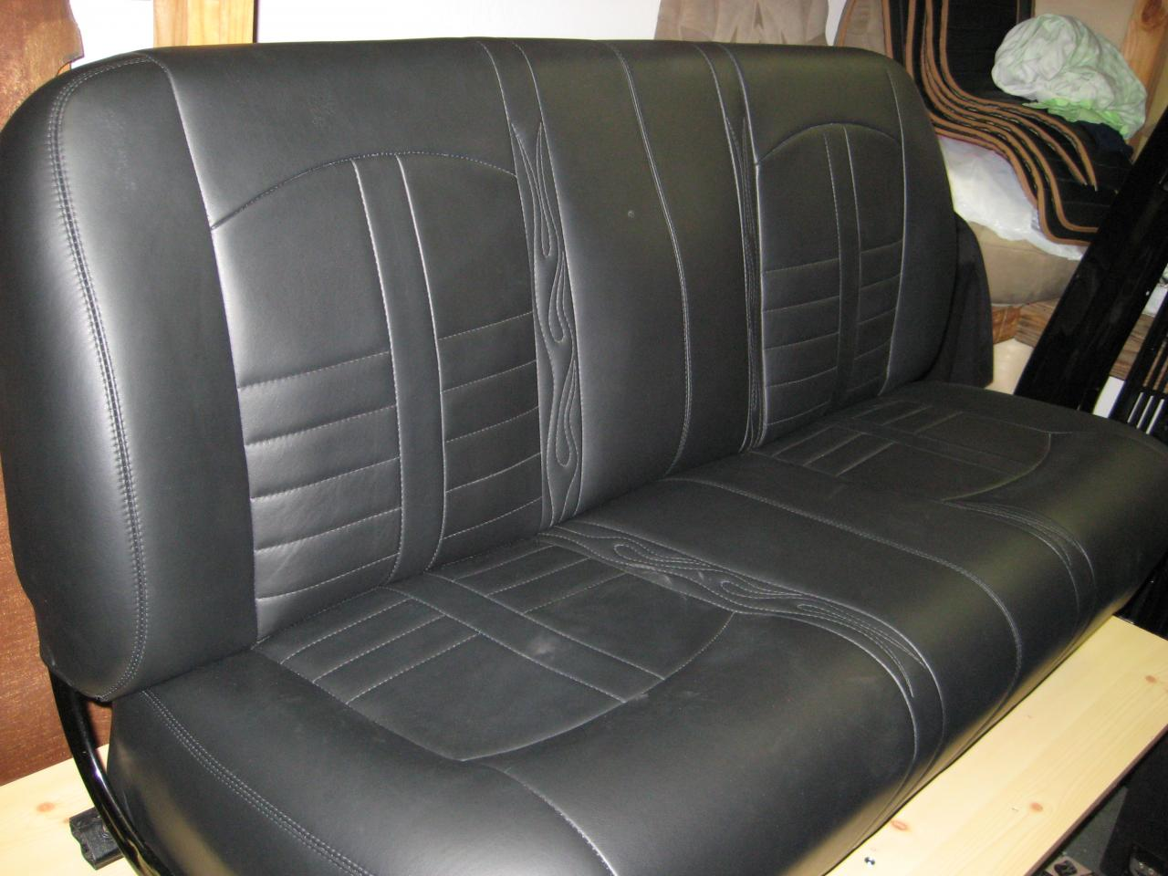 Chevy Bench Seat ~ Auto upholstery repair classic car restoration shop