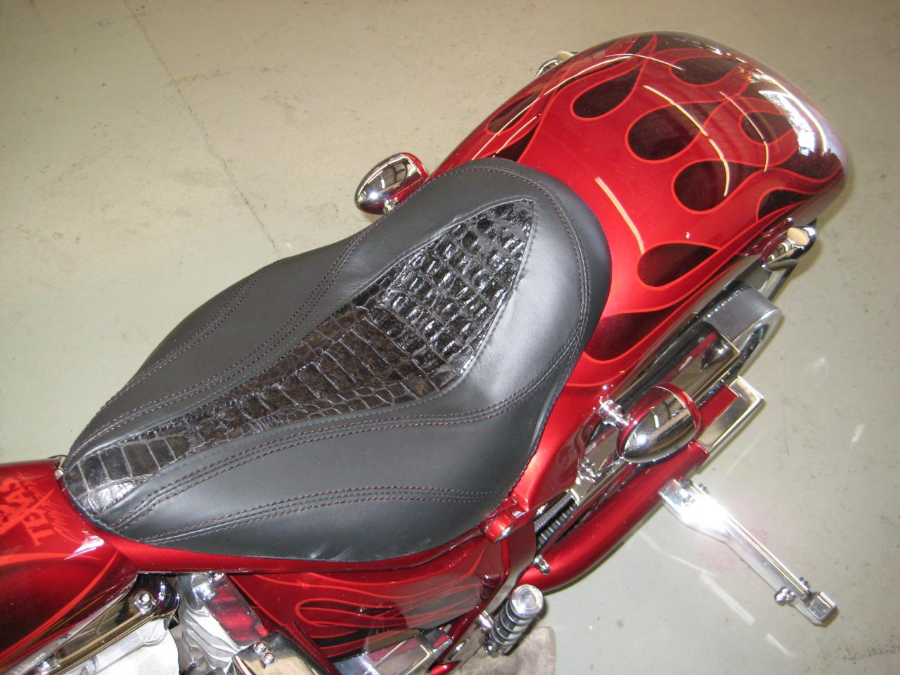Motorcycle Seat Replacement : Auto upholstery repair classic car restoration shop